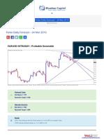 Forex Daily Forecast - 24 Mar 2016 BlueMax Capital