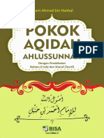 Aqidah Ushulussunnah Imam Ahmad Bin Hanbal BISA