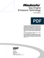 Gas Engine Emissions Technology 4th Edition