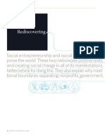 Rediscovering Social Innovation
