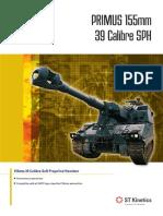 Primus 155mm 39 Calibre Self Propelled Howitzer