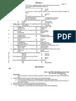 English Model Paper-01