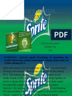 Sprite's Digital Campaign on Twitter During Ipl 4