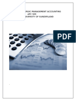 Stratergic Management Accounting