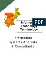 Informationtechnology Terminology