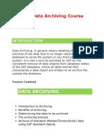 SAP Data Archiving Online Training - Glory IT Technologies
