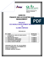 Financial Analysis Ecoworld vs Glomac 2013-2014