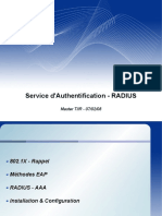 Service d'Authentification - RADIUS
