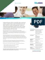 LifeSize Express220 Datasheet A4