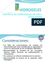 Práctica hidrogeles