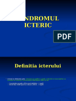 Curs 6 - Sindromul Icteric MILITAR