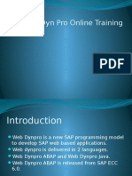 Best SAP Web Dynpro Training | SAP Web Dynpro Online Training.