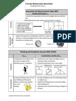 parent newsletter - first grade mathematics mp 4 part 2