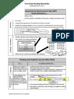 parent newsletter - first grade reading mp3 part2