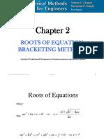 CHE 555 2 Bracketing Methods