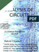Analysis of Circuits
