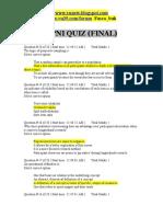 Total Quiz 2009