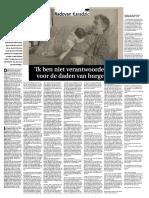 Interview Karadzic