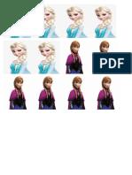 Monitos Frozen