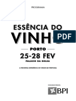 Programa essencia do vinho 2016