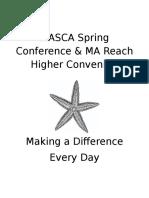 masca spring conference program 2016
