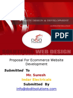 Proposal for Ecommerce Website Development Ppt
