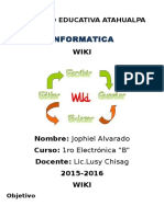 Trabajo Informe de Wiki