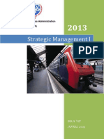 Strategic Management I