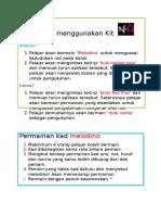 Manual kit pdp