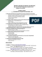Tematica Ex Diploma ITT 14 15