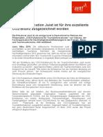 Pressemeldung -Tourist-Information Juist CO2 Zertifiziert -1