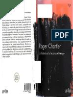 Chartier Roger - La Historia o La Lectura Del Tiempo