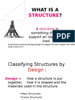 what is a structure and forces