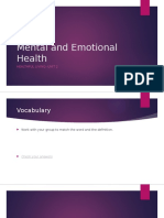 mental and emotional health powerpoint- fall2015