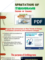 INTERPRETATION OF ANTIBIOGRAMS Trends of Change by Dr.T.V.Rao MD