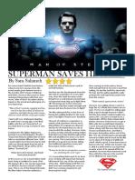 superman saves himself review finshed 22