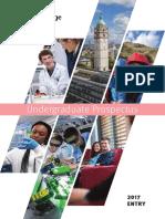 Undergraduate Prospectus 2017 Entry la