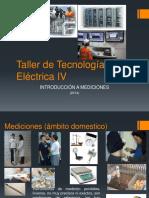 Introducción a Tte IV (Mediciones)