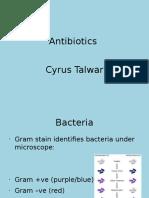 Antibiotics Presentation