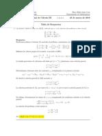 Corrección Examen Final de Cálculo III, 23 de marzo de 2016