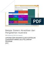 Belajar Sistem Akreditasi Dari Pengalaman Australia