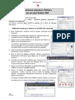 Combiner des fichiers pdf avec Adobe.pdf