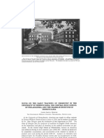 Notes on the Early Teaching of Chemistry in the University of Pennsylvania, the Central High School of Philadelphia, and the Franklin Institute of Pennsylvania
