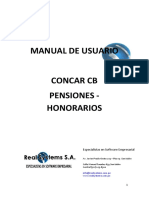 Manual Pensiones Honorarios CONCAR CB 04082014