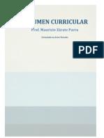 Currículum Vitae Av 2015