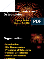 Hip Bio Mechanics and Osteotomies