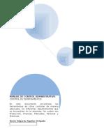 Manual General de Controles de Departamentos de Una Empresa