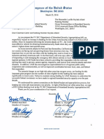 Urban Area Security Initiative Approps Letter FY 2017