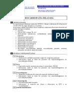 Protocolos terapéuticos y vías clínicas