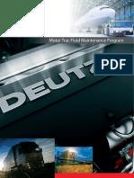 DEUTZ Motor Trac Fluid Analysis